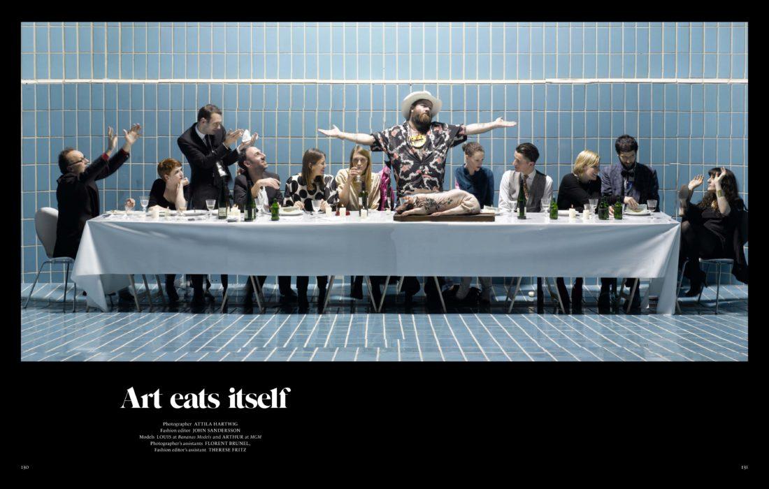 , Art Eat Itself | SLEEK, Telse Bus